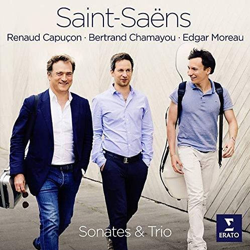Renaud Capucon & Edgar Moreau Saint-Saens Sonates & Trio