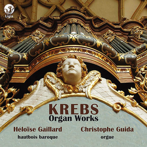 KREBS Oeuvres d'orgue Christophe Guida