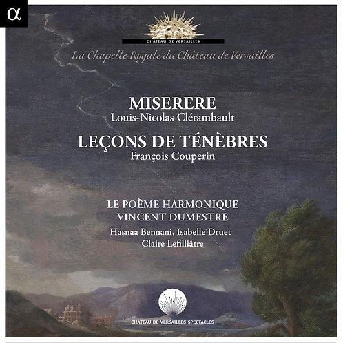 Miserere Clérambault-Couperin Le Poème Harmonique Vincent Dumestre