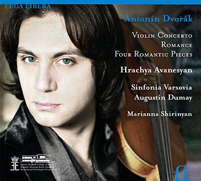 Hrachya Avanesyan Dvorak Concerto violon Sinfonia Varsovia Augustin Dumay