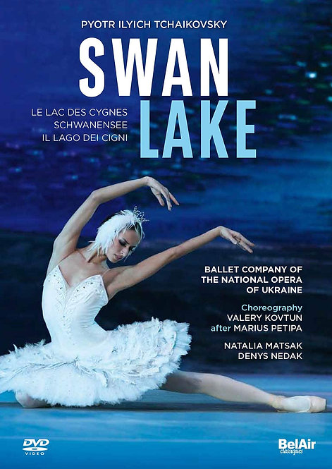 Swan Lake Tchaikovsky Ballet Company of national Opera of Ukraine DVD