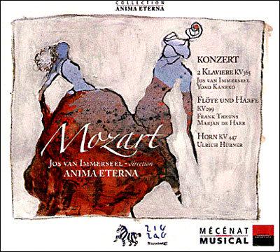 Anima Mozart concertosKV365, 299, 447