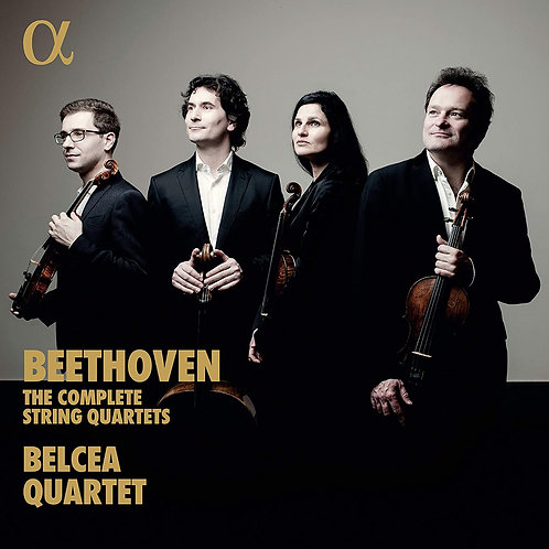 BEETHOVEN intégrale quatuors Belcea Quartet