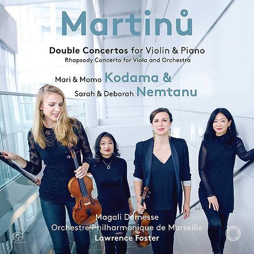Double Concerto pour violon et piano Martinu-Nemtanu & Kodama