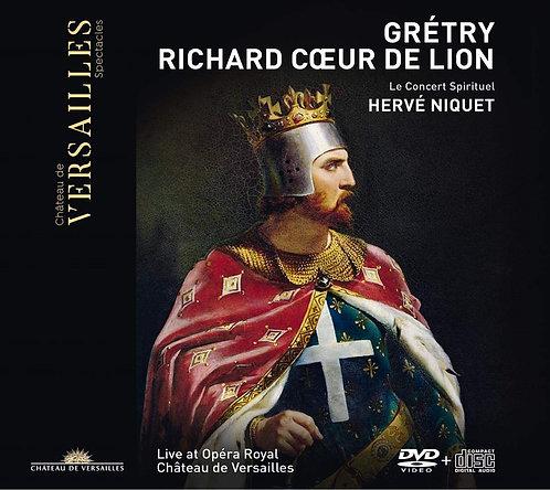 GRETRY: Richard Cœur de Lyon Hervé Niquet le Concert Spirituel