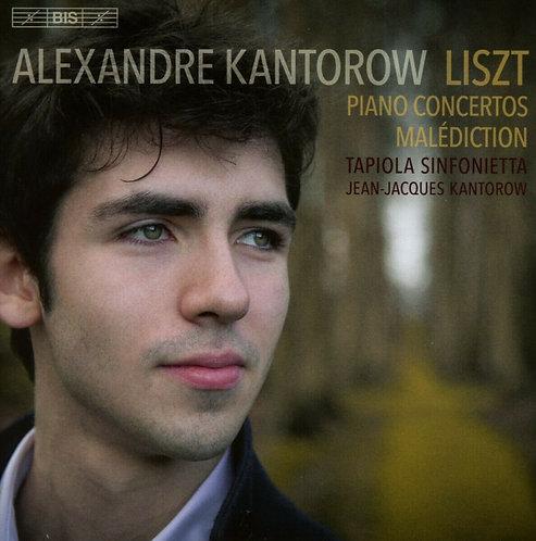 "Alexandre Kantorow Liszt Piano Concertos N°1 & 2, Concerto ""Malediction"" for Pia"