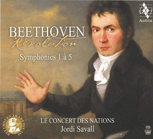 Jordi Savall Beethoven symphonies 1-5 Concert des Nations