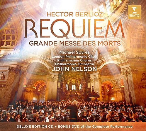 Berlioz Requiem Messe des Morts John Nelson Michael Spyres London Philharmonic C