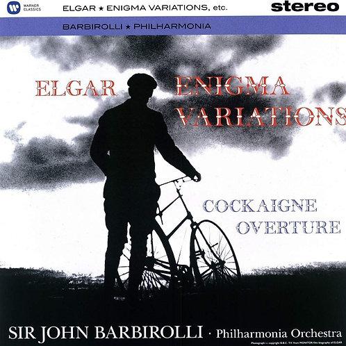 Elgar Enigma variations Sir John Barbirolli. Vinyle