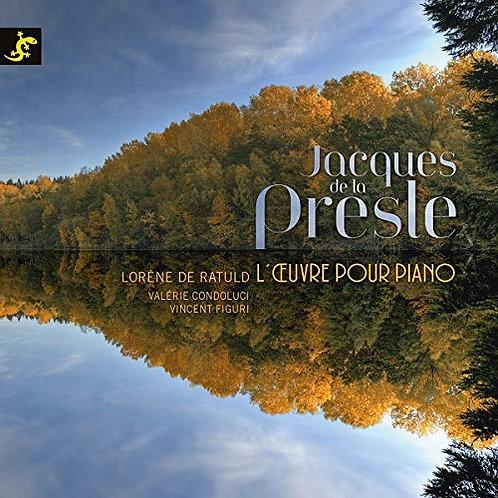 Jacques de la Presle Musique pour Piano