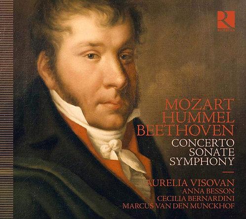 MOZART HUMMozart Hummel Beethoven concerto Aurelia Visovan