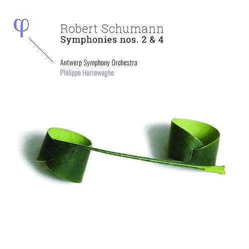 Herreweghe Schumann Symphonies 2&4