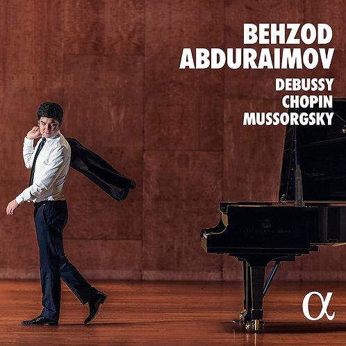 BEHZOD ABDURAIMov piano Debussy Chopin Mussorgsky