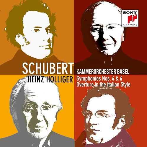 Kammerorchester/Schubert: Symphonie 4&6 Heinz Holliger