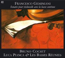 Geminiani Bruno Cocset sonates pour violoncelle avec basse continue