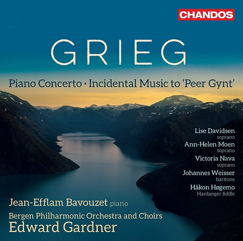 Grieg Piano Concerto, Incidental Music to Peer Gynt Jean-Efflam Bavouzet