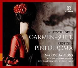 SCHTSCHEDRIn Carmen suite Respighi Pini di Roma