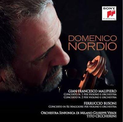 Domenico Nordio violon Malipiero/Busoni