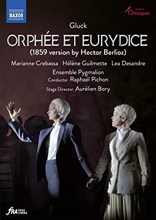 Gluck Orphée et Eurydice Raphaël Pichon Ensemble Pygmalion DVD