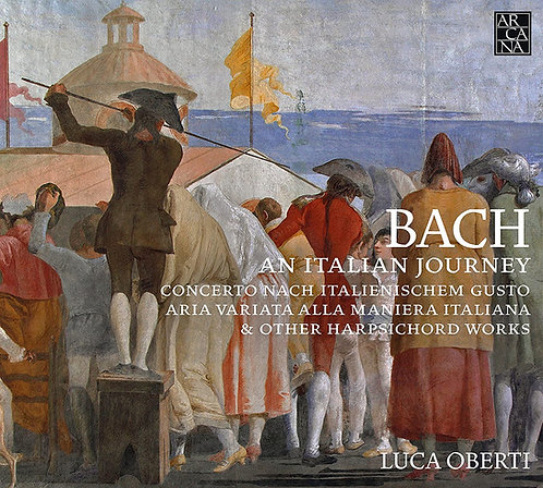 JS Bach an italian journey Luca Oberti