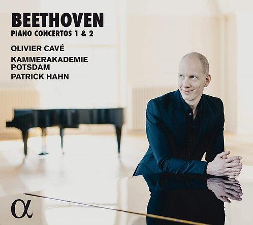 Ludwig van Beethoven Piano concertos 1&2 Olivier Cavé Kammerakademie Postdam Pat