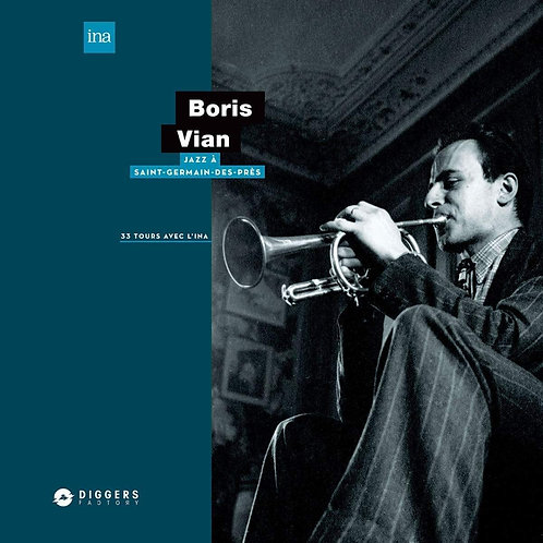 BORIS VIAN  JAZZ A SAINT-GERMAIN Vinyle