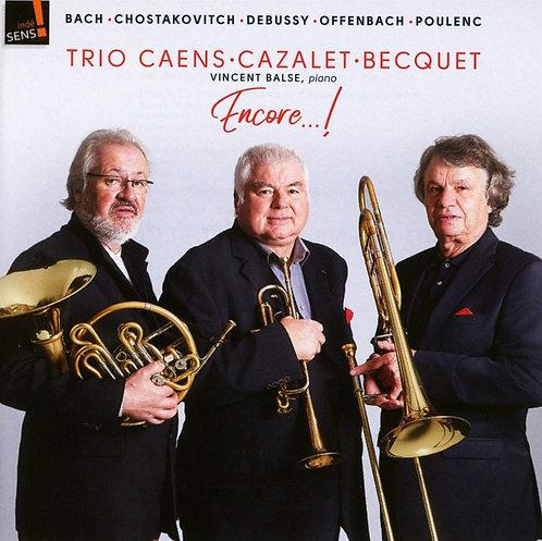 Bach/Chostakovitch Trio Caens-Cazalet Becquet