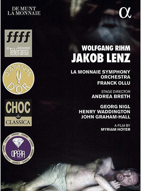 Jakob Lenz Wolfgang Rihm Franck Ollu DVD