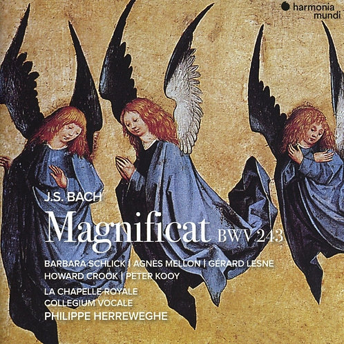 COLLEGIUM VOCALE PHIlippe Herreweghe MAGNIFICAT Bach BWV 243