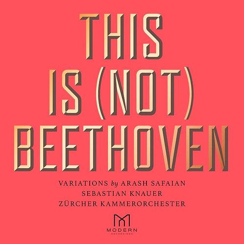 Arash Safaian Sebastian Knaue-This is not Beethoven