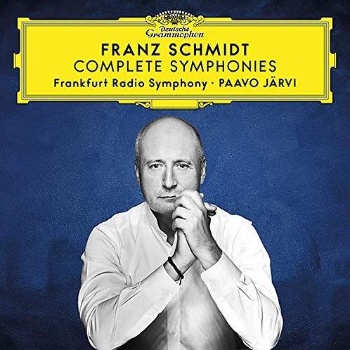 Franz SCHMIDT Complete Symphonies Frankfurt radio Symphony Paavo Järvi