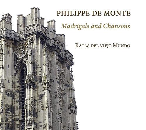 Philippe de Monte Ratas del Viejo Mundo Madrigals and Chansons
