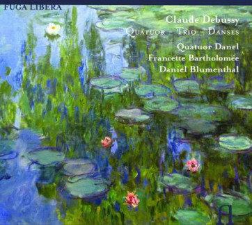 Debussy Quatuor-Trio-Danses Quatuor Danel