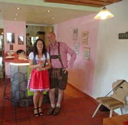 Beatrice&Rolf Gastgeber Hotel al Rom