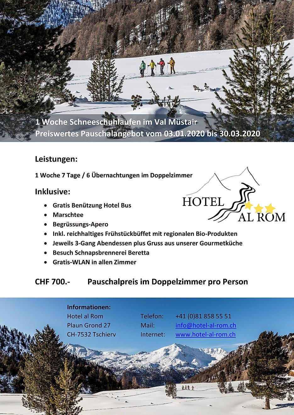 Pauschalangebot Schneeschuhlaufen 19-20_