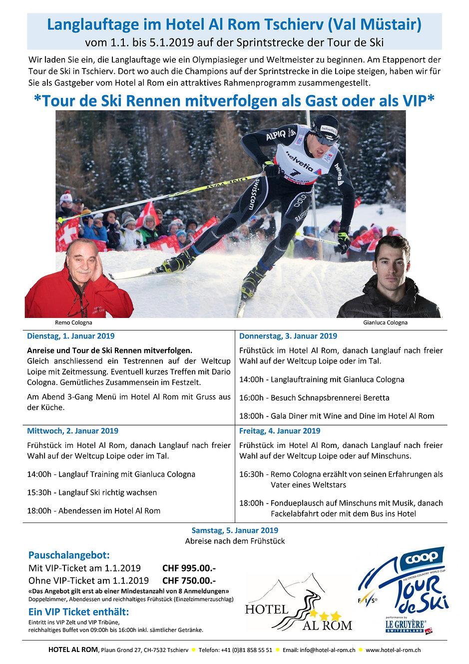 Tour de Ski als VIP
