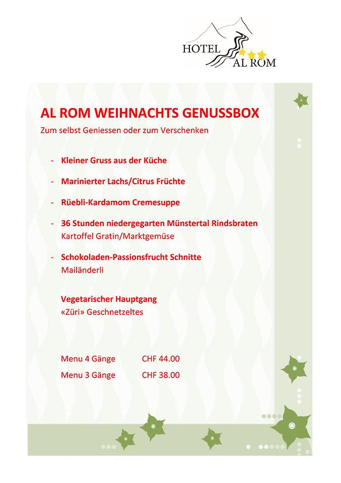 Weihnachts GenussBox