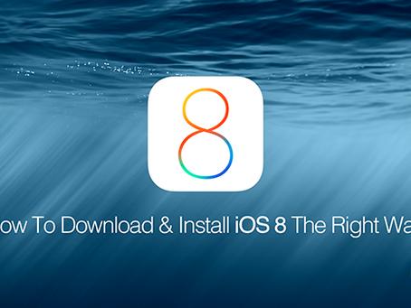 Problemen iOS 8 update