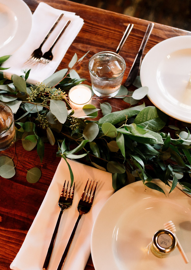 Twist Events Table Setting