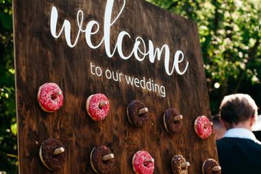 Twist Events Donut Wall