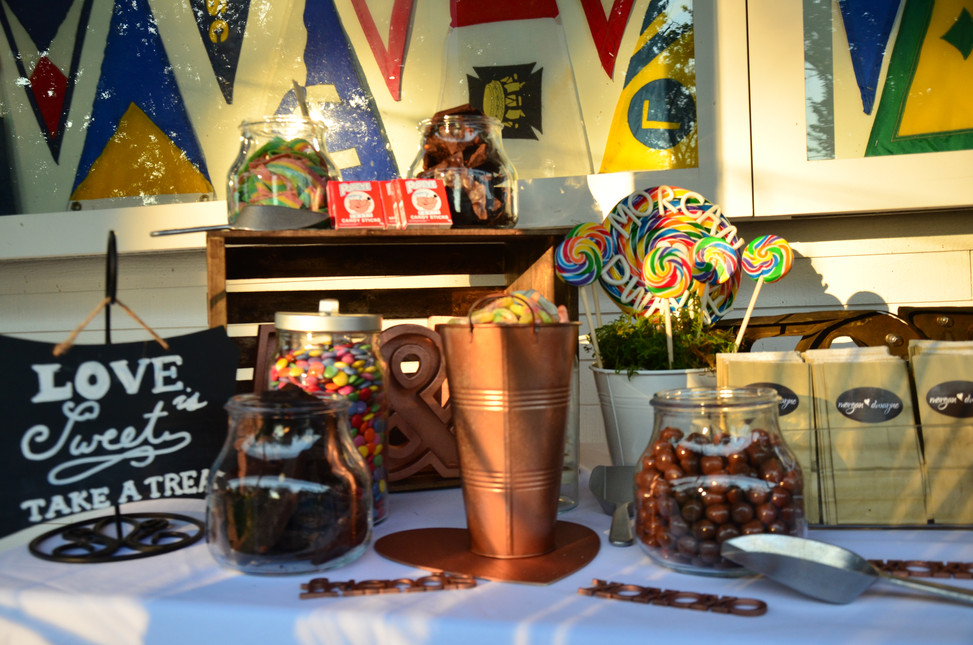 Twist Events Candy Table