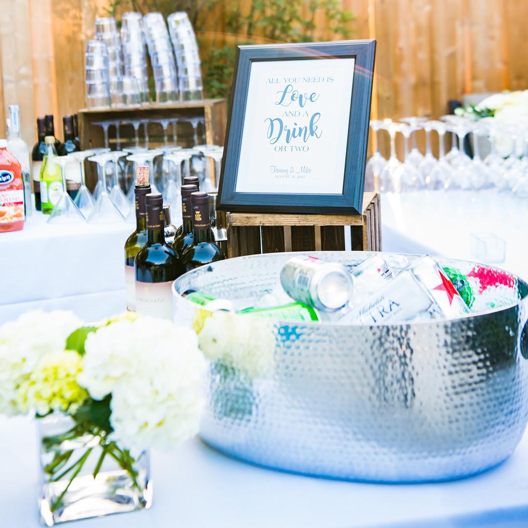 Twist Events Elegant Outdoor Bar