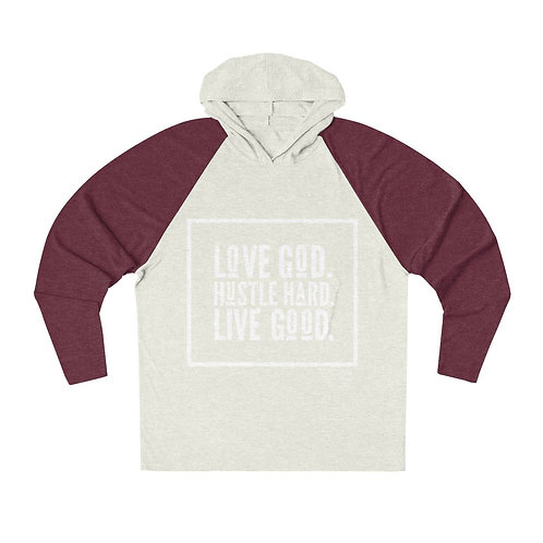"""Love God"" Hoodie - Assorted Colors"