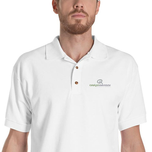 Catalyst Real Estate Men's Embroidered Polo