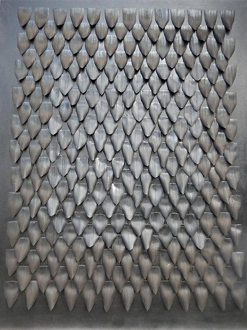 La Tunique de Nessus 80X100 cm (ensemble  de 3 tableaux)