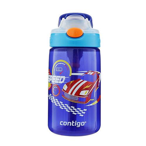 Contigo Gizmo Autospout Kids Bottle (PP) 14oz (410ml) - Motorcycle Race