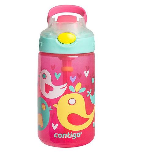 Contigo Gizmo Autospout Kids Bottle (PP) 14oz (410ml) - Love Birds