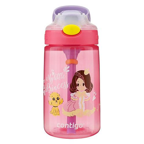 Contigo Gizmo Autospout Kids Bottle (PP) 14oz (410ml) - Princess Pea and Dog