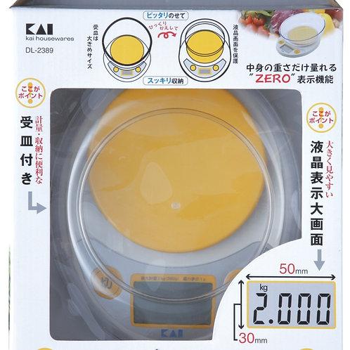 KAI Digital Scale-Egg Shape (2kg) (DL-2389)