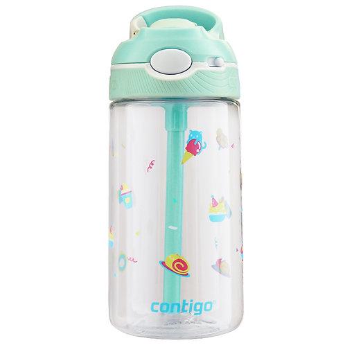 Contigo Ashland Water Bottle w/lock (Tritan) 16oz (450ml) - Kitty Dessert